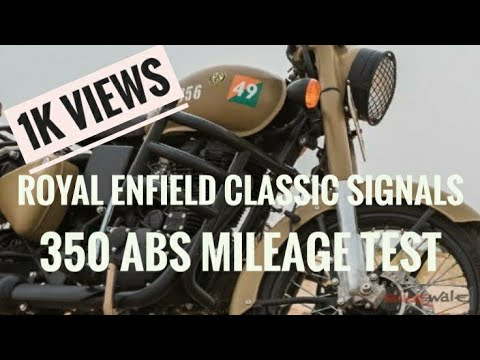 Xxx Mp4 Royal Enfield Classic 350 Signals ABS Mileage Test Not Complete First Service Rhinos Studio 3gp Sex