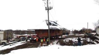 Time Lapse 2, Northfield Depot Move January 2016