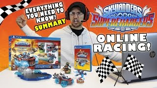 SKYLANDERS SUPERCHARGERS! Everything You Need To Know + ONLINE CO-OP RACING! (DEMO SUMMARY WRAP UP)