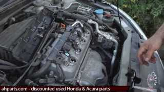 Spark Plugs Ignition Coils How to replace install fix change 01 02 03 04 05 Honda Civic replacement