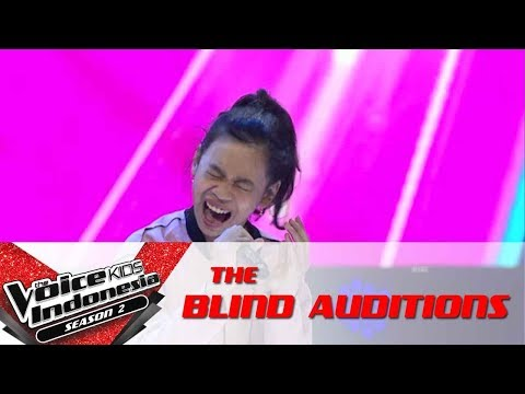 """Nabila """"Side To Side""""   The Blind Auditions   The Voice Kids Indonesia Season 2 GTV 2017"""