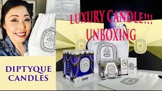 Diptyque Online Order Unboxing!!!
