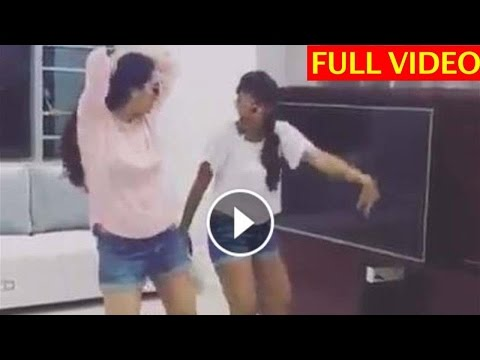 Telugu Actress Surekha Vani Dance Video With Her Daughter in shorts on KALA CHASMA song goes Viral