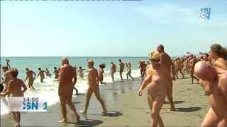 record Guinness de nudistas
