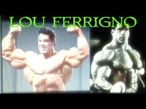 El hombre que no quiso ser Mr Olympia:Lou Ferrigno