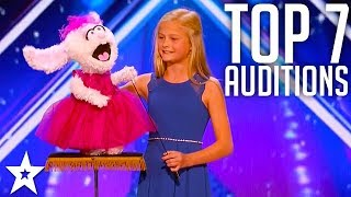 The Best Top 7 AMAZING Auditions | America's Got Talent 2017