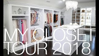 MY CLOSET TOUR 2018! | HOME TOUR SERIES