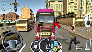 Euro Truck Driver 2018 #41 - Farting Driver! - Android gameplay