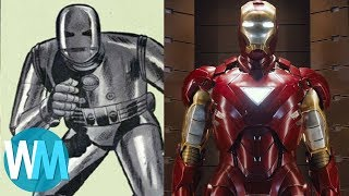 Top 10 Superhero Costume Revamps