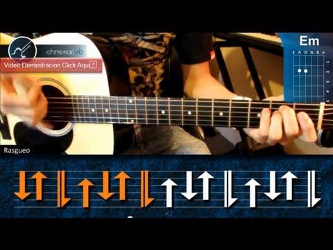 Cómo tocar Reggae en Guitarra Acústica HD Tutorial Ritmo Christianvib