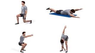 Rutina de ejercicios para principiantes | ENTRENAMIENTO EN CASA SIN PESAS