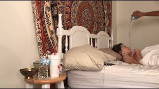 SLEEPING PRANK (GET'S VIOLENT) | E&K Forever