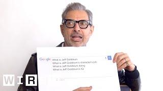 Jeff Goldblum Answers the Web