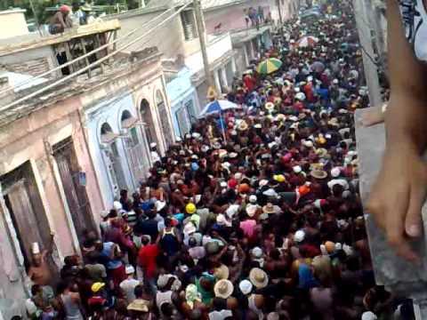 Carnaval Santiago de Cuba 2010 Conga San Agustin
