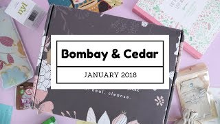 Bombay & Cedar Subscription Box Unboxing January 2018