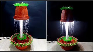 How to make a Fountain Night Lamp / DIY