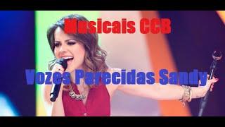 2 HORAS SEGUIDAS DE HINOS CCB CANTADOS - Vozes Parecidas (Stela