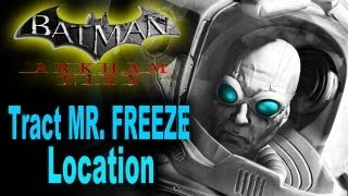 Batman Arkham City: Locate Mr. Freeze,Track Freeze's Location by Identifying the Coldest Point