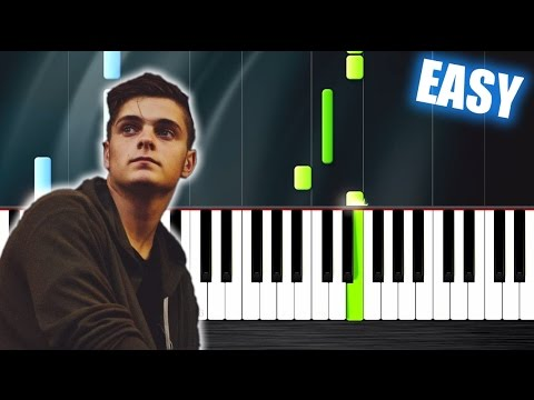 Martin Garrix & Dua Lipa - Scared To Be Lonely - EASY Piano Tutorial by PlutaX