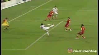 Montenegro 1-2 Iran   GOALS   Friendly - 6/4/2017