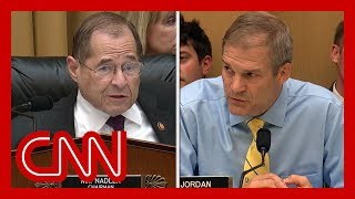 Nadler shuts down Jordan during hearing: I