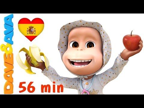 🍏 🍌 Manzanas y Bananas Canciones Infantiles y Canciones para Bebés de Dave y Ava