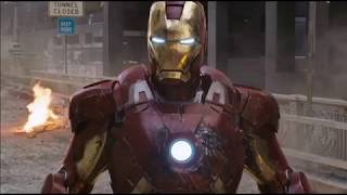 Ironman Funny Scene in Hindi From Avengers