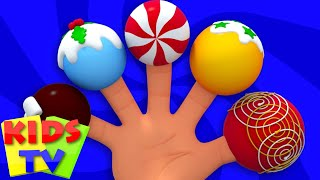 Christmas Cake Pop Finger Family   Christmas Carol   Xmas Songs