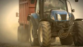 New holland TS 135A [Engine Sound]