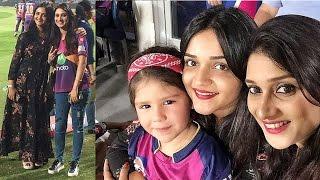 IPL 2017: DD vs SRH, Three Cricketers Wife Spotted In IPL-10
