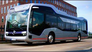 Mercedes Self Driving Bus Review World Premiere Mercedes Future Bus 2016 Autonomous Bus CARJAM TV