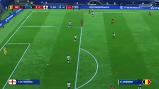 PS4 FIFA 18 Gameplay Belgium vs England [HD]