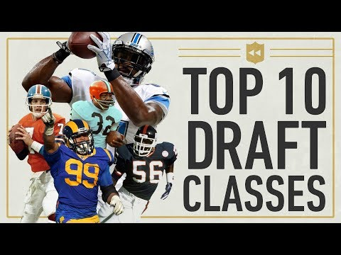 Top 10 Draft Classes in NFL History NFL Vault Stories