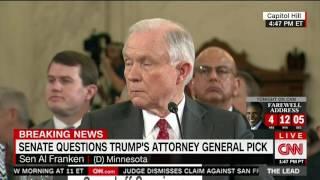 Franken responds to Cruz re Sessions