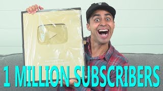 Gold Play Button Unboxing   David Lopez