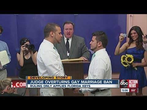 Ruling allows same-sex marriages for Florida Keys