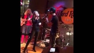 George Aneed & Rocky Valuce - Picture - Live At The Hard Rock Cafe. Kid Rock/Sheryl Crow Cover