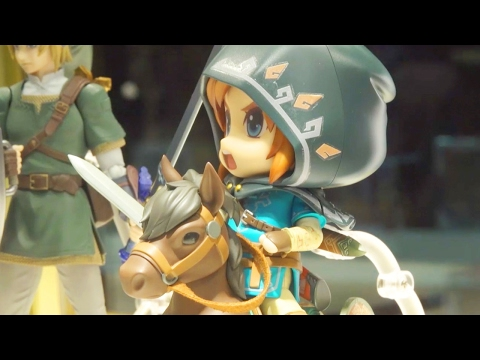 This Zelda Breath of the Wild Link Figure is So Cute Toy Fair 2017