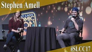 Stephen Amell - Panel/Q&A - SLCC 2017