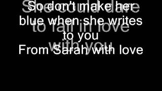 Sarah Connor - From Sarah with love (with Lyrics) - YouTube.flv