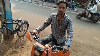 Indian homemade Dirt bike ( electric)
