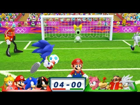 Xxx Mp4 Mario Sonic At The London 2012 Olympic Games Football 47 With Shadow Sonic Mario Peach 3gp Sex