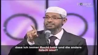 Wütendes Mädchen fragt Dr. Zakir Naik, warum Sie die Leute den Islam aufnehmen wollen