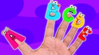 ABC Dedo Família | compilação para crianças | vídeo educativo | ABC Finger Family | Learn Alphabets
