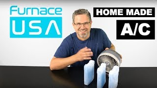 How to make an Air Conditioner at home using Ice Packs. DIY