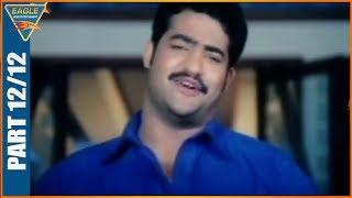 Main Hoon Gambler Hindi Dubbed Movie  Part 12/12 -    Jr. NTR, Shriya Saran, Genelia, Ramya Krishnan