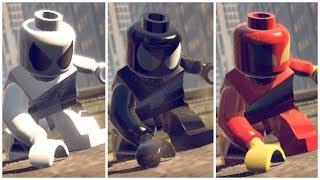All Spider-Men in LEGO Marvel Superheroes cutscene + Mods