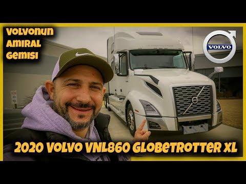 2020 Volvo VNL860 Globetrotter xl Inceledim