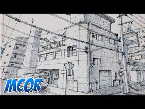Como Dibujar un Escenario Manga | #2