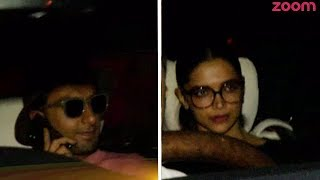 Deepika Parties With Her Beau Ranveer Singh At Karan Johar